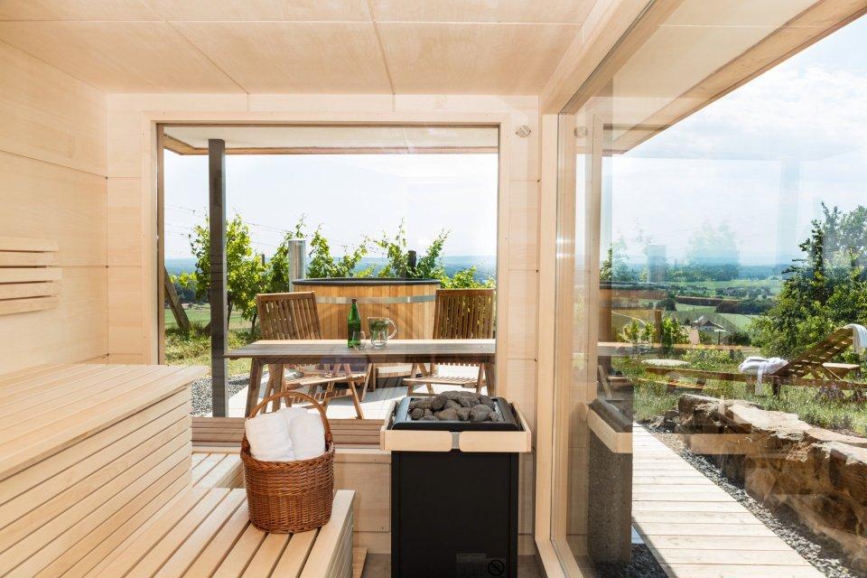 Luxus Ferienhaus mit Sauna